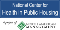 Logo for the National Center for Health in Public Housing
